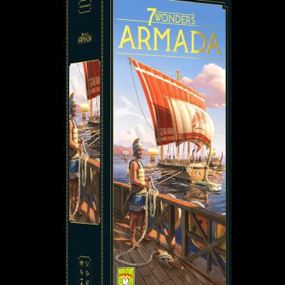 7 Wonders Armada Expansion 2nd Edition (NL)