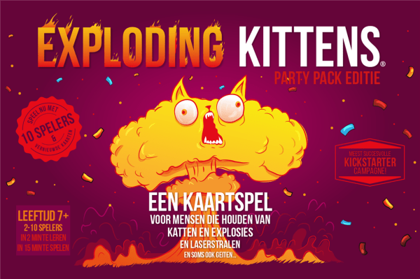 Cover Exploding Kittens Party