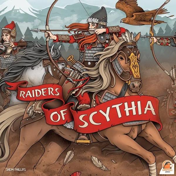 Cover raiders of scythia