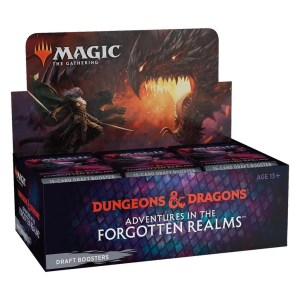MTG Adventures in the Forgotten Realms Box