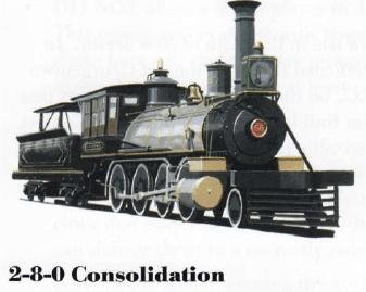 2-8-0 Consolidation