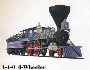 4-4-0 8-Wheeler