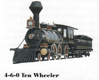 4-6-0 Ten Wheeler