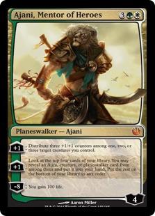 Ajani-Mentor of Heroes