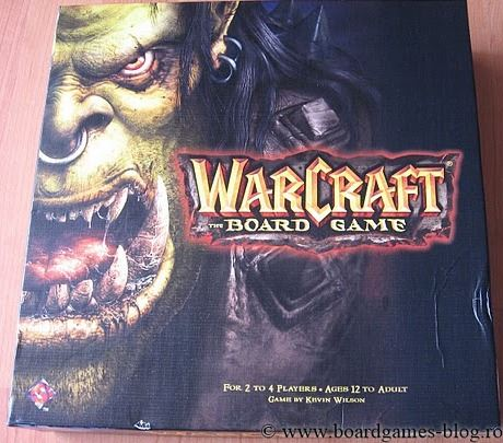 Coperta Warcraft, the boardgame