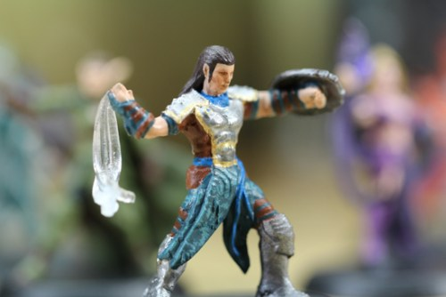 Magic the Gathering Arena of the Planeswalkers miniatura Gideon