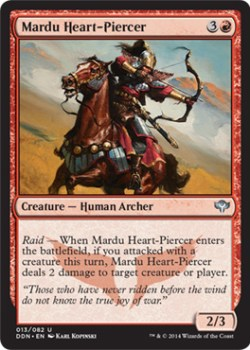 Mardu Heart-Pierce - Khans of Tarkir