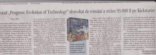 Progress Evolution of Technology in Ziarul Financiar