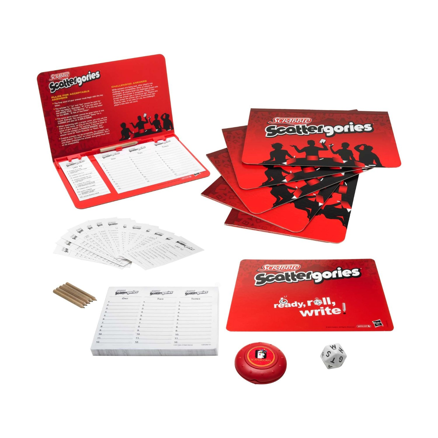 Scrabble Scattergories Edition Board Game Board Games