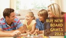 Buying New Fun Board Games 2021