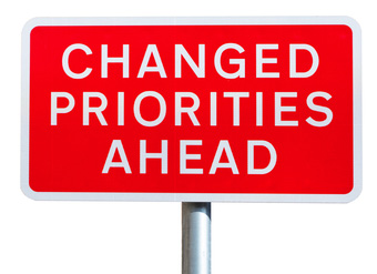 Changing IT Priorities