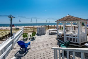 Sundeck at New Jersey Oceanfront Hotel | Bordwalk Charlee Hotel