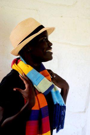 Joseph Brights Bamboo Scarf By Tsandza Weaving