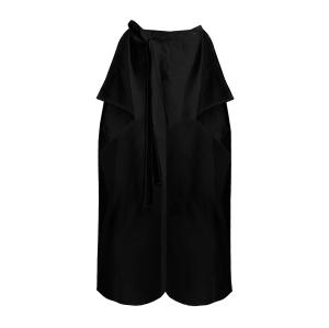 Linen Maxi pants black