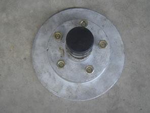 Brake Discs Galvanized