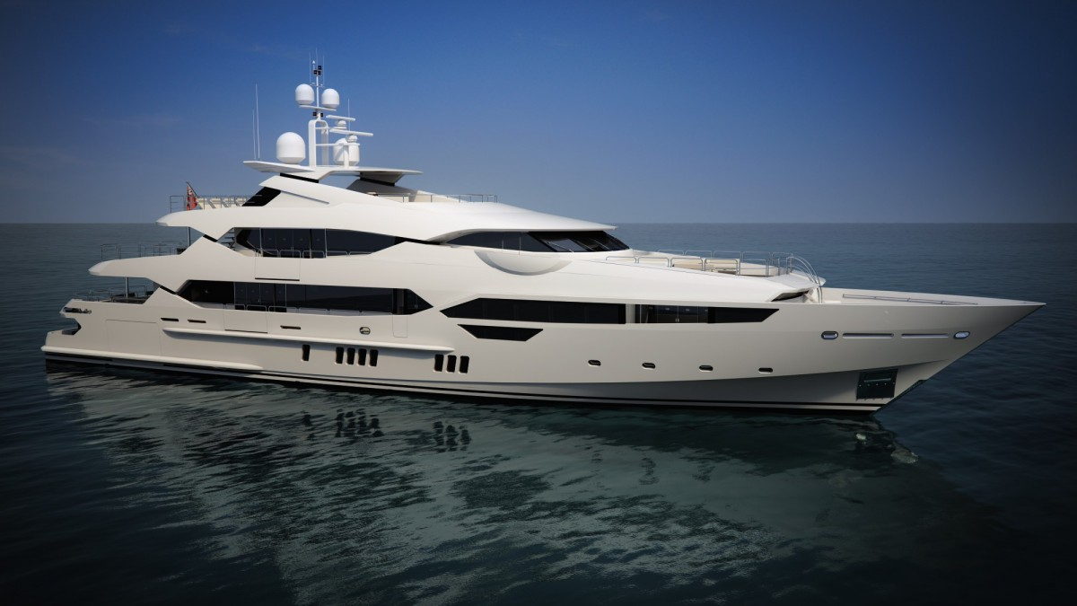 Eddie Jordan Takes Delivery Of Brand New 25m 155ft