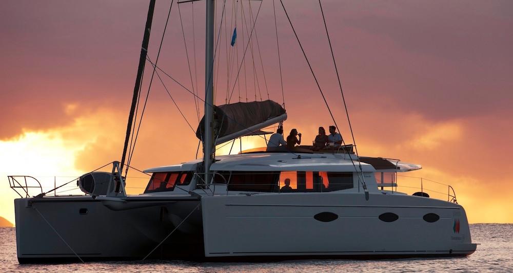 Crewed Catamaran ALIVE Fountaine Pajot Sanya 57 5