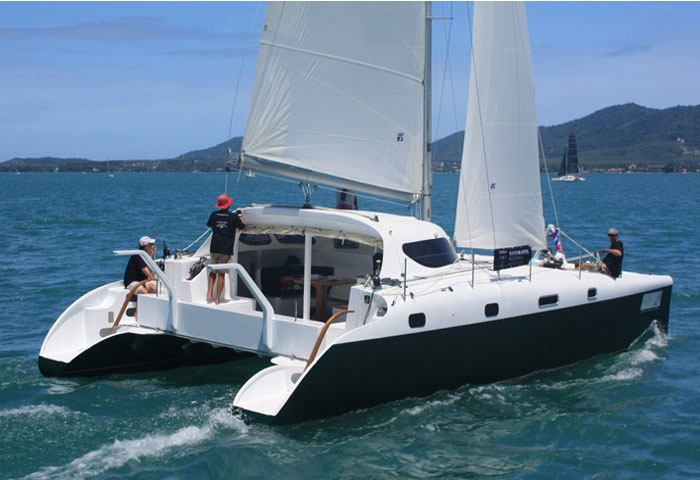 Crewed Sailing Catamaran Cabriolet 38 4 Cabins Phuket