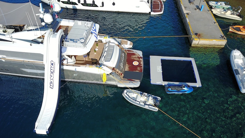 Luxury Crewed Motor Yacht DRAGON Guy Couach 37m 6 Cabins Athens Mykonos Santorini