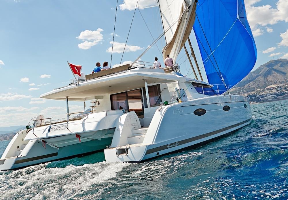 Luxury Crewed Catamaran LIR Fountaine Pajot Victoria 67