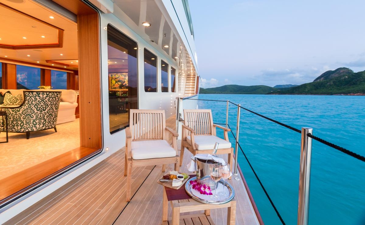 Luxury Crewed Motor Yacht MIM Burger 144 7 Cabins Ft