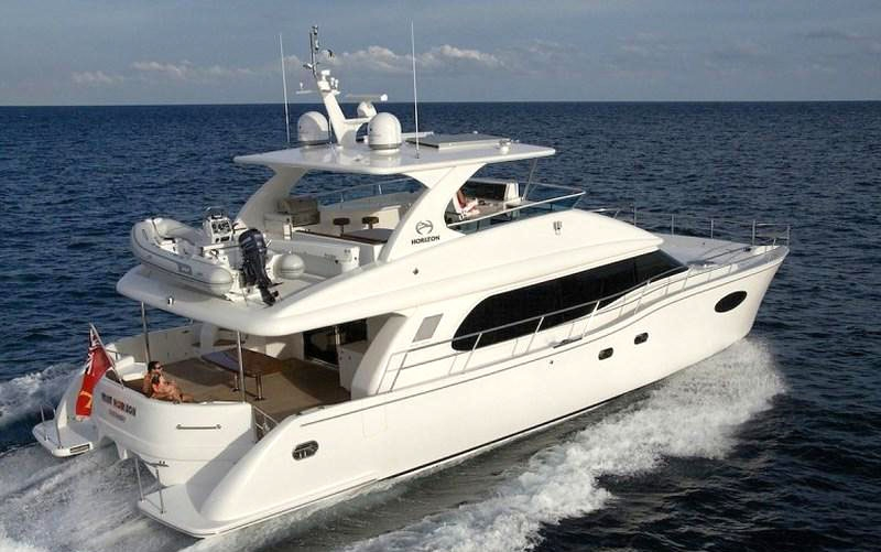 Crewed Power Catamaran SEA BOSS Horizon 60 Power Cat 3