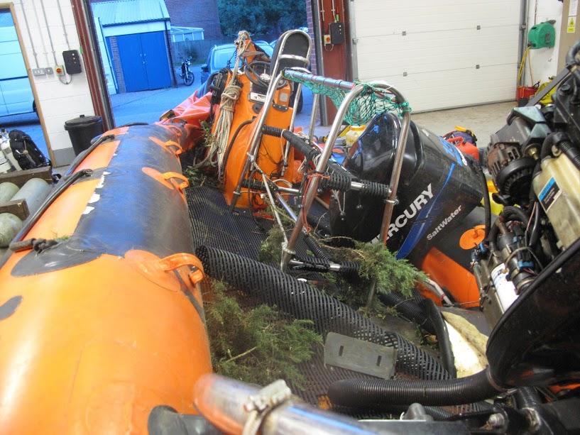 Latest Scrap Boat: Written Off Humber Rib