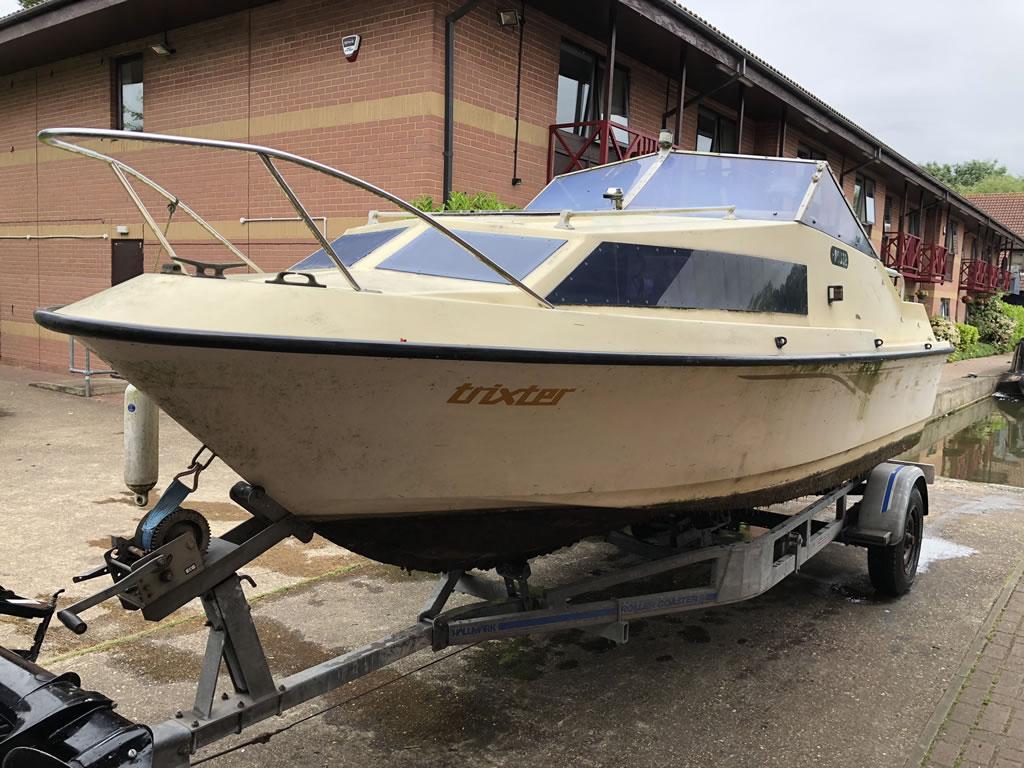 Milton Keynes - Shetland Boat Collection
