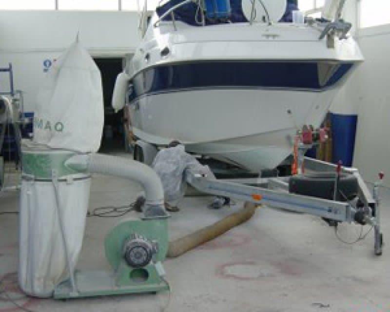 boat osmosis treatment cost in Malta at boatcare trading limited Portomaso Marina