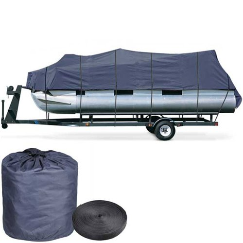 Yescom 600D Oxford Blue 21-24ft Pontoon Boat Cover