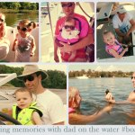 Making Memories Boating with Dad
