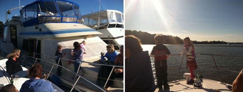 end boating season raftup