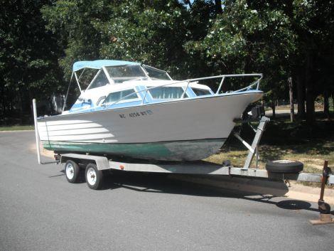1971 20 Foot Grady White Cuddy Cabin Fishing Boat For Sale