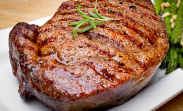 marinated-ribeye-with-steak-sauce-honey-butter