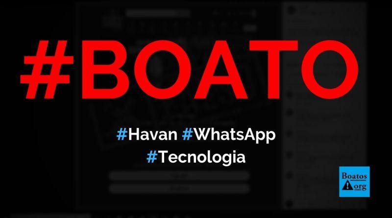 Havan está dando milhares de vales-compra em comemoração a aniversário, diz boato (Foto: Reprodução/Facebook)