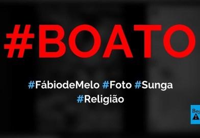 Padre Fábio de Melo posou para foto com sunga vermelha, diz boato (Foto: Reprodução/Facebook)