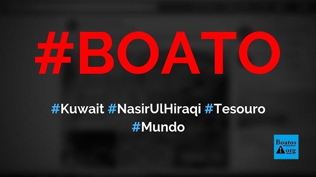 Nasir Ul Hiraqi, homem mais rico do Kuwait, morreu e deixou tesouro para trás, diz boato (Foto: Reprodução/Facebook)