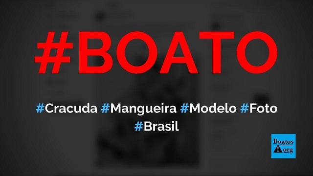 Cracuda da Mangueira era fisioterapeuta (fisiculturista), modelo e morava na Tijuca, diz boato (Foto: Reprodução/Facebook)