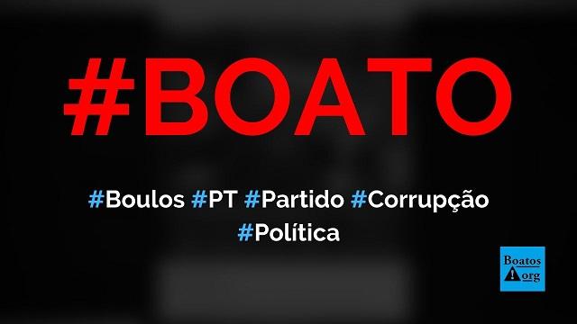 Guilherme Boulos diz que o PT é o partido da corrupção durante entrevista, diz boato (Foto: Reprodução/Facebook)
