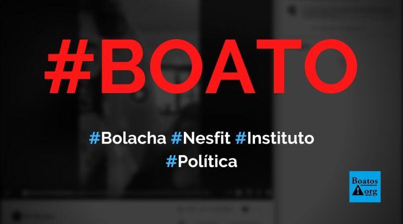 Bolacha Nesfit é feita de plástico e, por isso, pega fogo em vídeo, diz boato (Foto: Reprodução/Facebook)