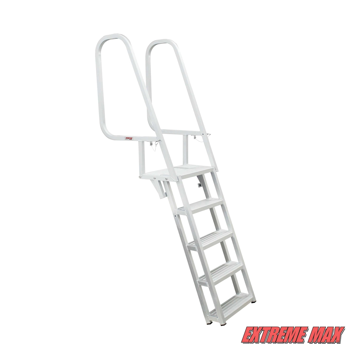 Extreme Max Deluxe Flip Up Dock Ladder With