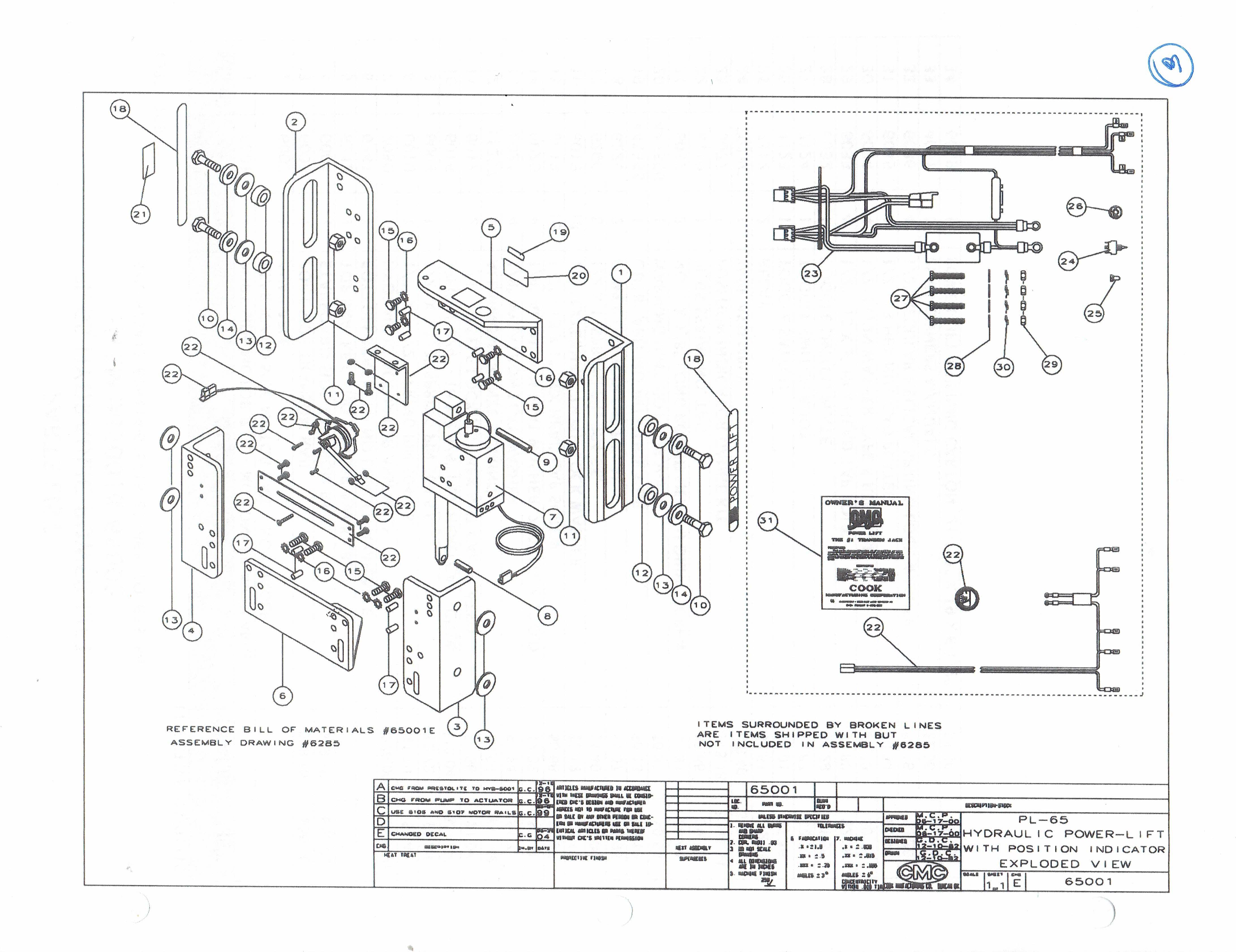 Cmc Hydraulic Jack Schematic
