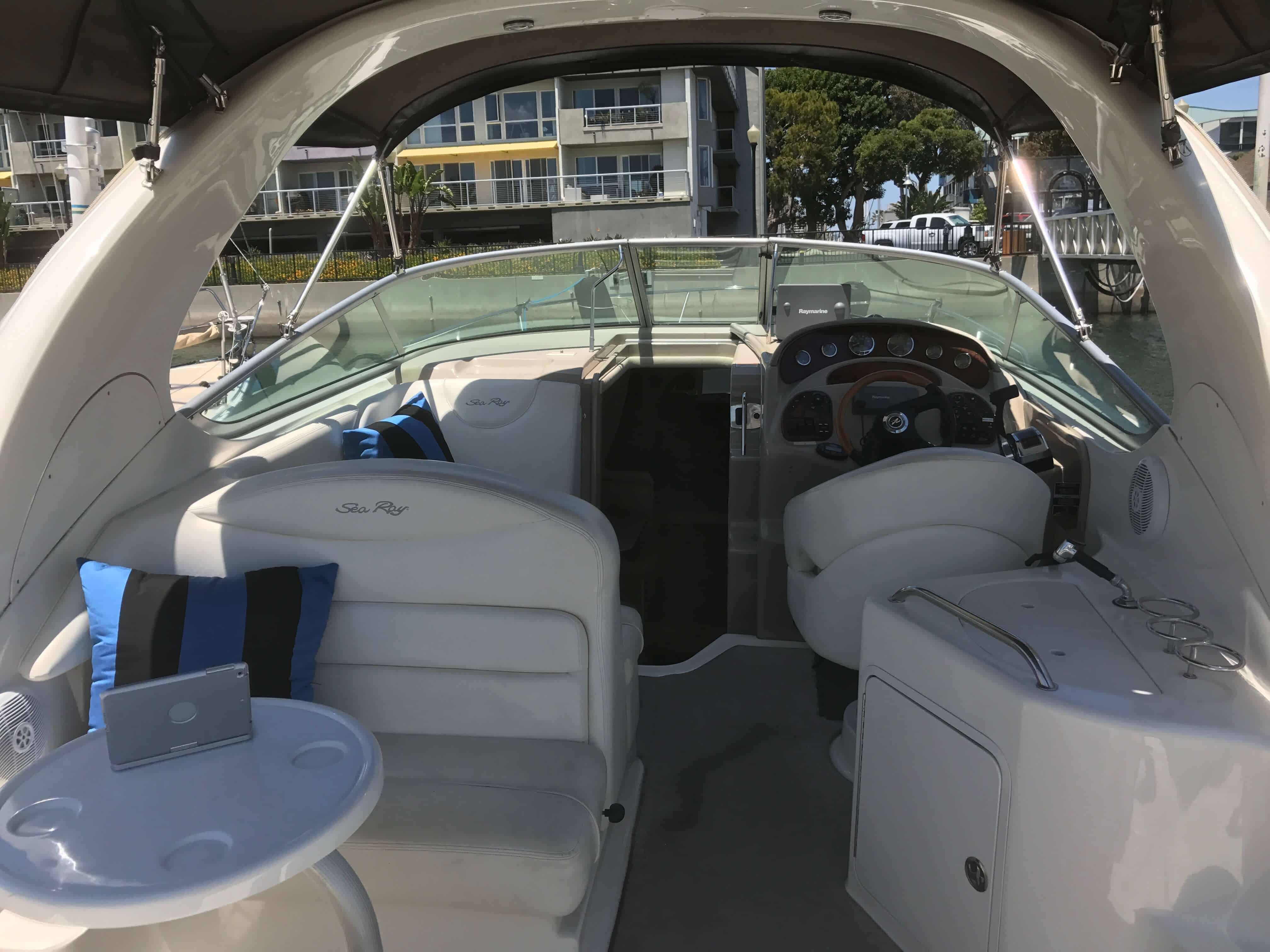 Blue Horizon Tour Boat Cockpit