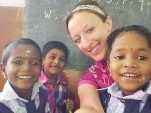 3 first graders: Sivasandrika, Sudarsan, Kaviya