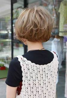 back view of short hairstyles stacked » Hair Cut Idea | Hair Style