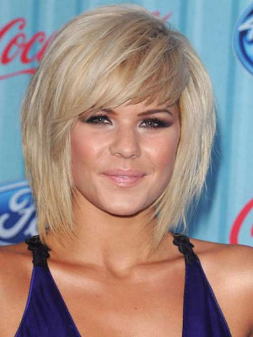 20 Angled Bobs With Bangs Bob Hairstyles 2018 Short