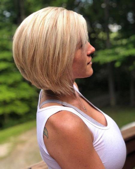 25 Stacked Bob Haircuts Bob Hairstyles 2018 Short