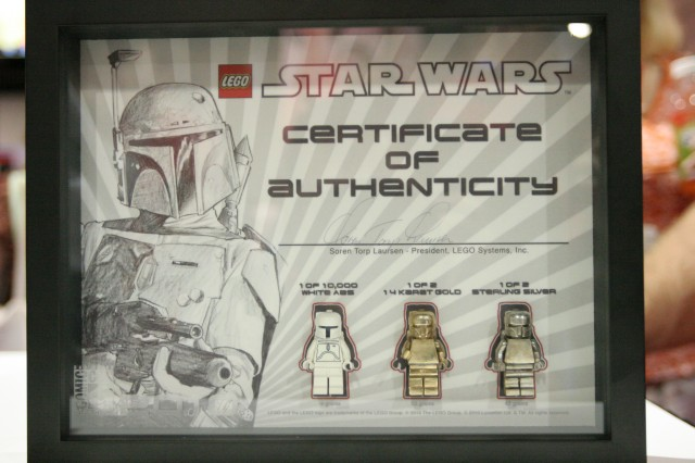 LEGO White Gold And Silver Boba Fett Set Celebration V