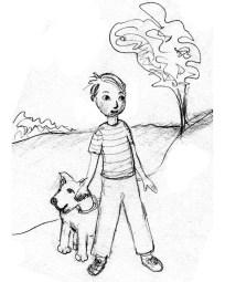 boy&dog