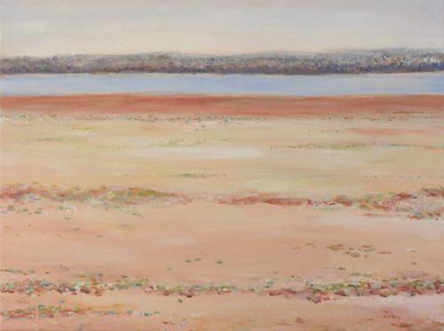 Lake Peery, artist robyn pedley, landscape, bobbie p gallery